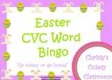 Easter CVC Word Bingo