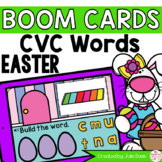Easter CVC Words Digital Game Boom Cards™ Distance Learning