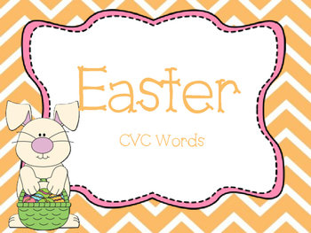 Easter CVC words