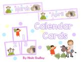 Easter Calendar Cards