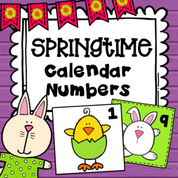 Easter Calendar Numbers
