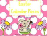 Easter Calendar Pieces- Numbers (Make Your Own Pattern!)