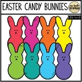 Easter Candy Bunnies (Clip Art for Personal & Commercial Use)