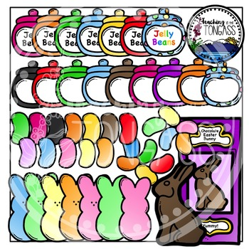 Easter Clipart Candy Bundle