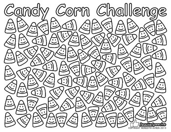 Easter Candy Corn Challenge