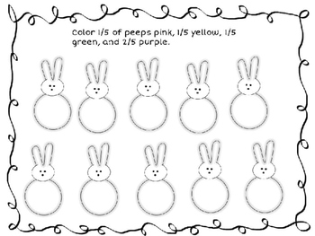 Easter Candy:  Fractions