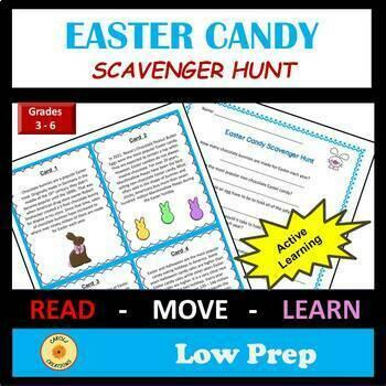 Easter Candy Scavenger Hunt