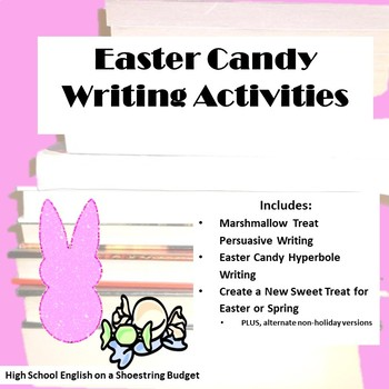 Easter Candy Writing Activities