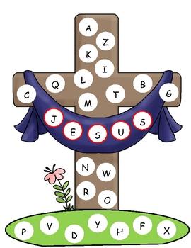 Easter Capital Alphabet Mat