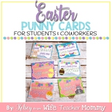 Easter Cards Gift Tags for Students and Coworkers