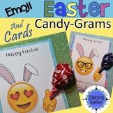 Easter Cards - Candy Gram Emoji Lollipop Holders