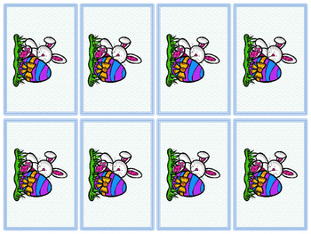 Easter Cards Kit Fountas and Pinnell 25 High Frequency Words by Koala Resources