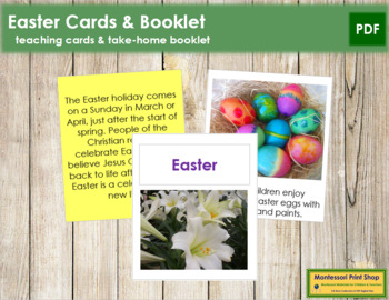 Easter Cards and Booklet