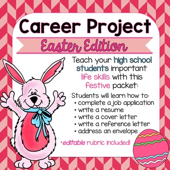Easter Career Project & Activities (job search skills)