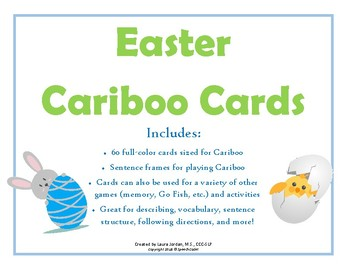 Easter Cariboo Cards