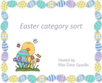 Easter Category Sort