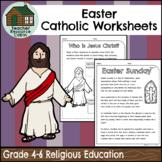 Easter Catholic Activities (Grade 4-6 Religious Education)