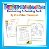 Easter Celebration Read-Along and Coloring Book