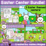 Easter Center Bundle - 3 Centers with Writing, ABC Order,