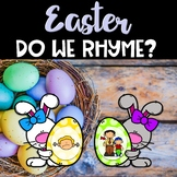 Easter Center ~ Does it Rhyme?