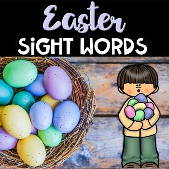 Easter Center ~ Easter Egg Sight Words