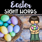 Easter Center ~ Easter Egg Sight Words
