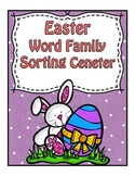 Easter Center ~ Word Families