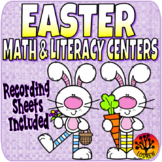 Easter Centers Activities Recording Sheets Easter Activities Worksheets