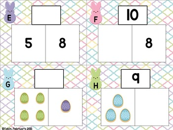 Easter Activities- ELA and Math Centers