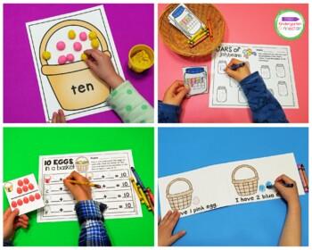 Easter Centers and Activities for Pre-K/Kindergarten