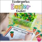 Easter Centers for Kindergarten