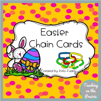 Easter Chain Cards