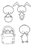 Easter Characters Clipart