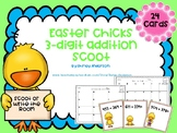 Easter Chick- 3 Digit Addition Scoot