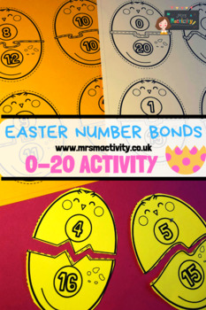 Easter Chick And Egg Number Bonds To 20 Activity
