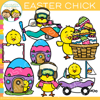 Cute Chick Easter Clip Art