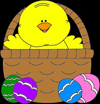 Easter Chick: Color by Letter
