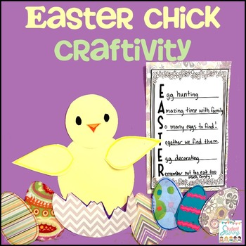 Easter Chick Craftivity!