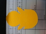 Easter Chick Die Cut