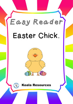 Easter Chick Easy Reader Guided Reading Kit