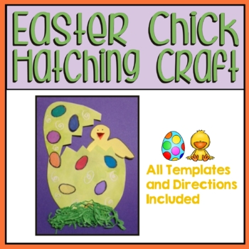Easter Chick Hatching Craft