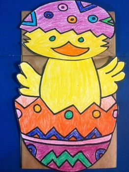 Easter Chick Puppet