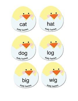 Chick Rhyming center
