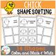 Shape Sorting Mats: Chick