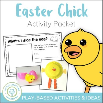Easter Activities - Chick Themed Learning and Play