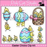 Easter Clip Art - Easter Chicks - Personal & Commercial Use