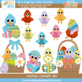 Easter Chicks Clipart