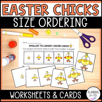Easter Chicks - From Smallest to Largest