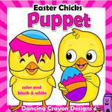 Easter Puppet Chicks | Easter Craft Activity