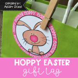 Easter Circle Gift Tag